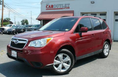 2014 Subaru Forester for sale at MY CAR OUTLET in Mount Crawford VA