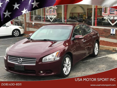 2011 Nissan Maxima for sale at USA Motor Sport inc in Marlborough MA