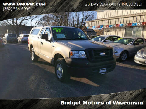 2007 Ford F-150 for sale at Budget Motors of Wisconsin in Racine WI