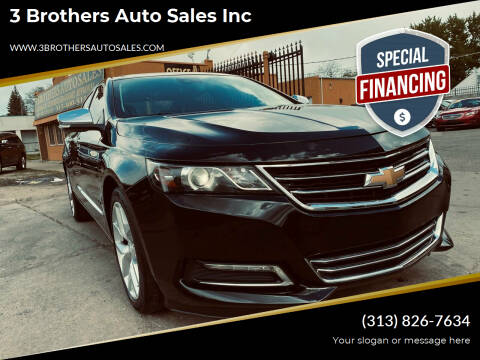 2016 Chevrolet Impala for sale at 3 Brothers Auto Sales Inc in Detroit MI