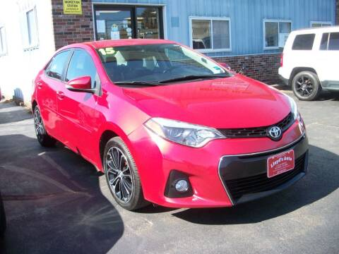 2015 Toyota Corolla for sale at Lloyds Auto Sales & SVC in Sanford ME