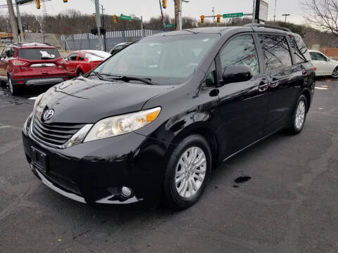 2014 Toyota Sienna for sale at Cedar Auto Group LLC in Akron OH