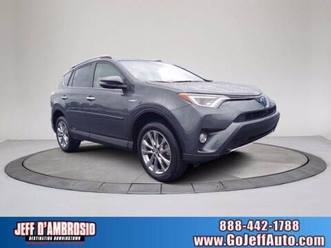 2016 Toyota RAV4 Hybrid for sale at Jeff D'Ambrosio Auto Group in Downingtown PA