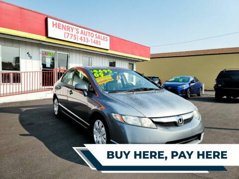 2009 Honda Civic for sale at Henry's Autosales, LLC in Reno NV