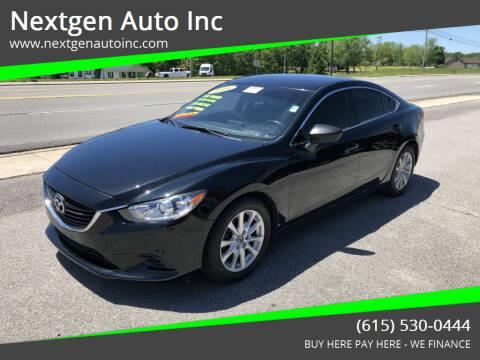 2016 Mazda MAZDA6 for sale at Nextgen Auto Inc in Smithville TN