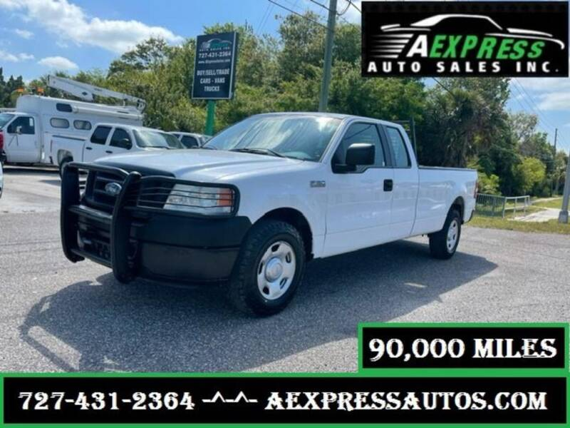 2008 Ford F-150 for sale at A EXPRESS AUTO SALES INC in Tarpon Springs FL