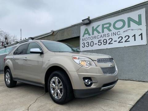 2010 Chevrolet Equinox for sale at Akron Motorcars Inc. in Akron OH