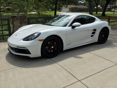 2018 Porsche 718 Cayman for sale at TEXAS MOTOR WORKS in Arlington TX