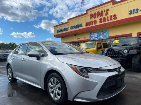 2020 Toyota Corolla for sale at Popas Auto Sales in Detroit MI