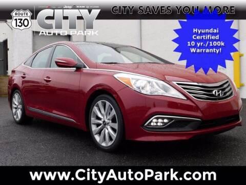2016 Hyundai Azera for sale at City Auto Park in Burlington NJ