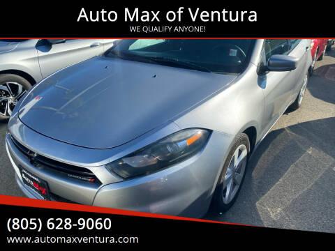 2016 Dodge Dart for sale at Auto Max of Ventura in Ventura CA