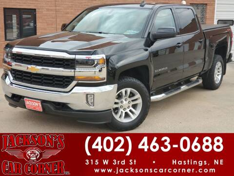 2018 Chevrolet Silverado 1500 for sale at Jacksons Car Corner Inc in Hastings NE