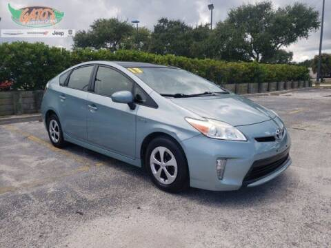 2013 Toyota Prius for sale at GATOR'S IMPORT SUPERSTORE in Melbourne FL
