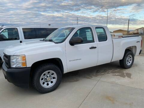 2011 Chevrolet Silverado 1500 4WD EXT Cab for sale at Albers Sales and Leasing, Inc - Albers Sales and Leasing Inc in Bismarck ND