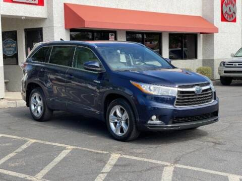 2016 Toyota Highlander Hybrid for sale at Brown & Brown Auto Center in Mesa AZ