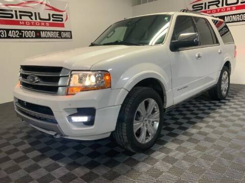 2016 Ford Expedition for sale at SIRIUS MOTORS INC in Monroe OH
