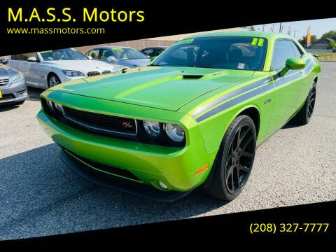 2011 Dodge Challenger for sale at M.A.S.S. Motors in Boise ID