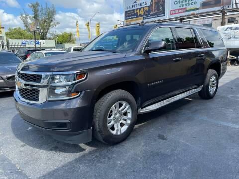 2015 Chevrolet Suburban for sale at AUTO ALLIANCE LLC in Miami FL