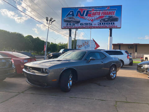 2011 Dodge Challenger for sale at ANF AUTO FINANCE in Houston TX