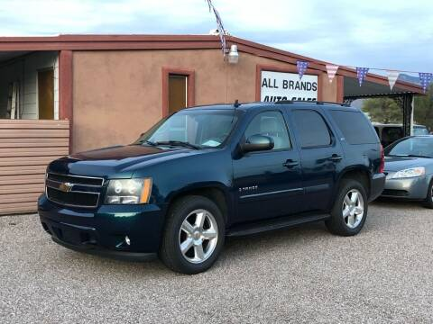 2007 Chevrolet Tahoe for sale at All Brands Auto Sales in Tucson AZ