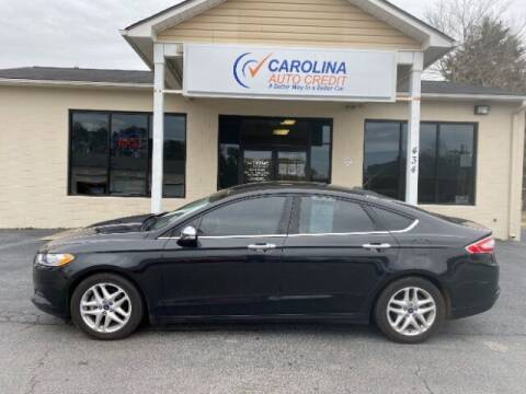 2015 Ford Fusion for sale at Carolina Auto Credit in Youngsville NC