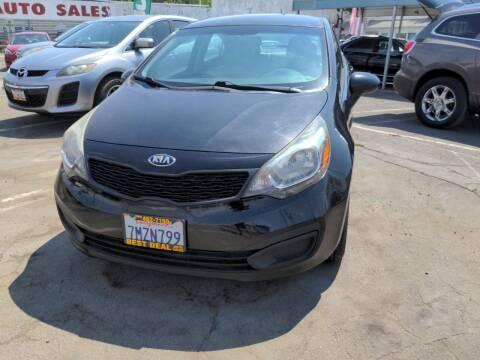 2013 Kia Rio for sale at Best Deal Auto Sales in Stockton CA