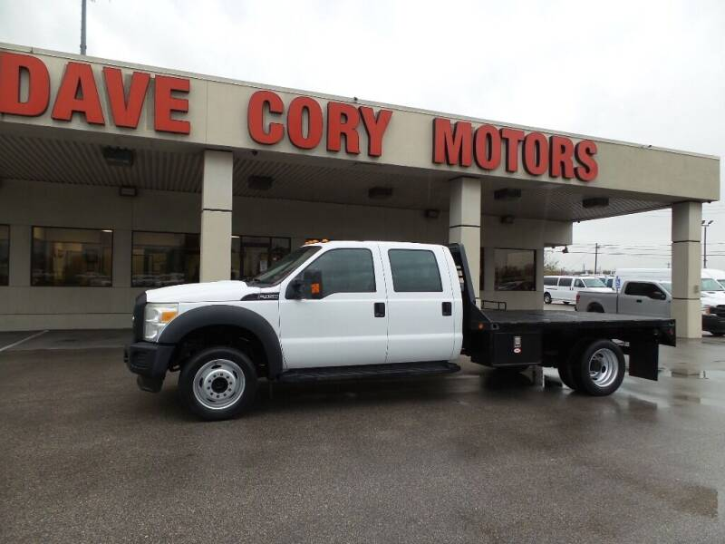 2011 Ford F-450 Super Duty for sale at DAVE CORY MOTORS in Houston TX