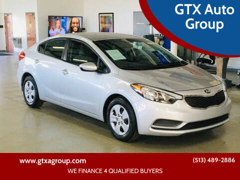 2016 Kia Forte for sale at GTX Auto Group in West Chester OH