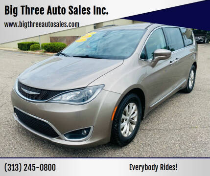 2017 Chrysler Pacifica for sale at Big Three Auto Sales Inc. in Detroit MI