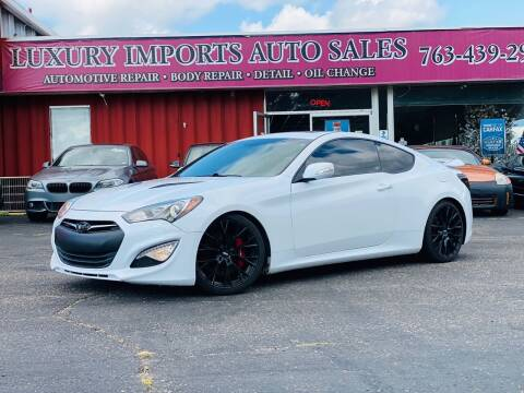 2015 Hyundai Genesis Coupe for sale at LUXURY IMPORTS AUTO SALES INC in North Branch MN