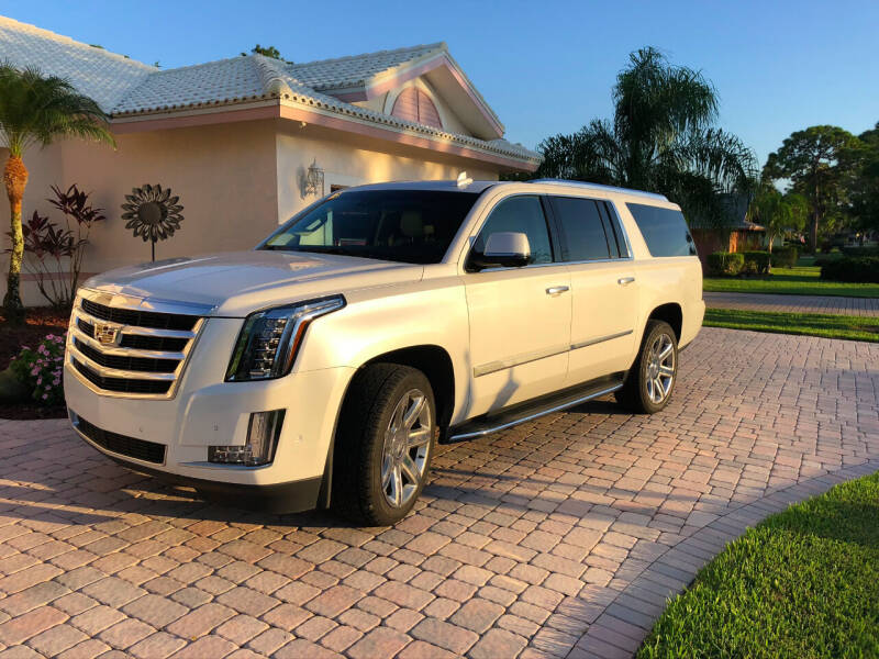 2018 Cadillac Escalade ESV for sale at Bcar Inc. in Fort Myers FL