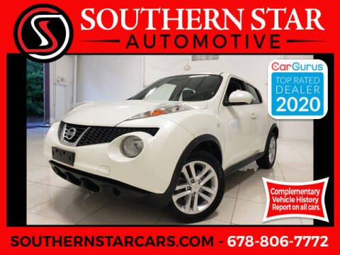2013 Nissan JUKE for sale at Southern Star Automotive, Inc. in Duluth GA