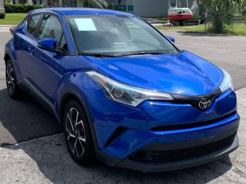 2018 Toyota C-HR for sale at Consumer Auto Credit in Tampa FL
