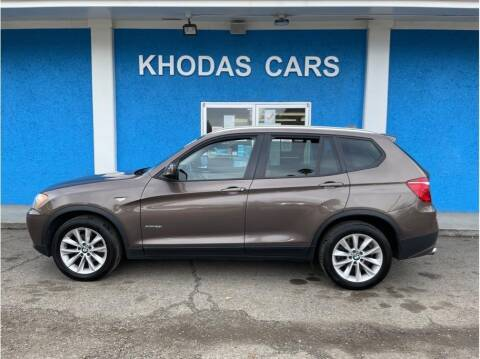 2013 BMW X3 for sale at Khodas Cars in Gilroy CA