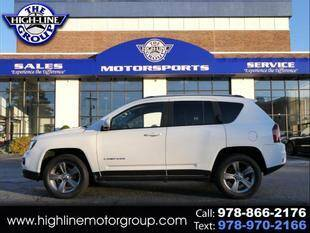 2015 Jeep Compass for sale at Highline Group Motorsports in Lowell MA