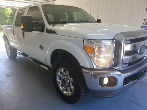 2012 Ford F-250 Super Duty for sale at Bailey Family Auto Sales in Lincoln AR