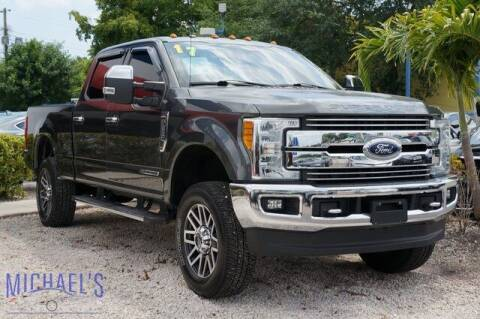 2017 Ford F-250 Super Duty for sale at Michael's Auto Sales Corp in Hollywood FL