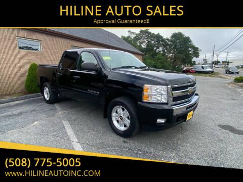 2011 Chevrolet Silverado 1500 for sale at HILINE AUTO SALES in Hyannis MA