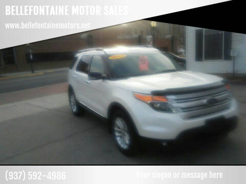 2013 Ford Explorer for sale at BELLEFONTAINE MOTOR SALES in Bellefontaine OH