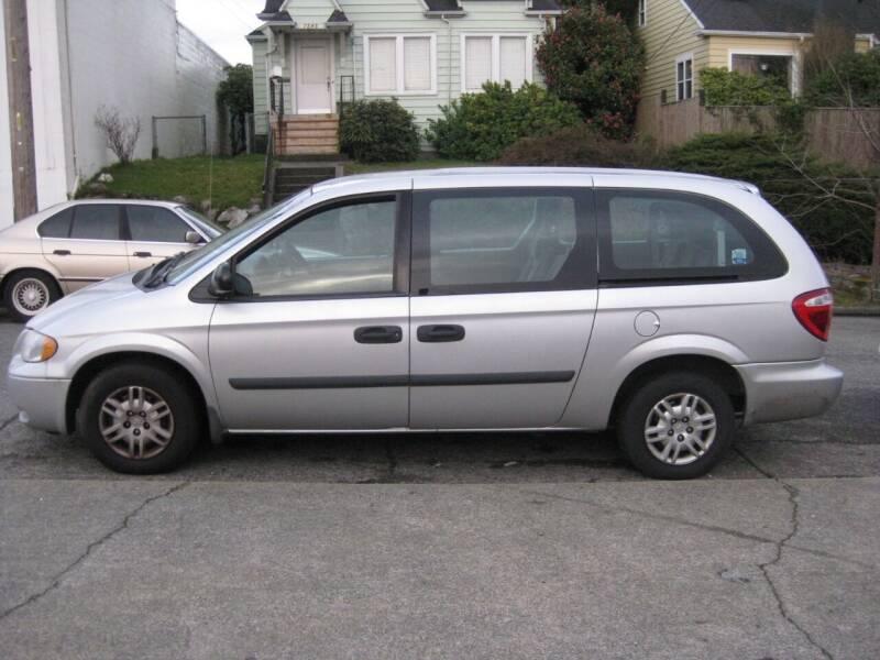 2006 Dodge Grand Caravan for sale at UNIVERSITY MOTORSPORTS in Seattle WA
