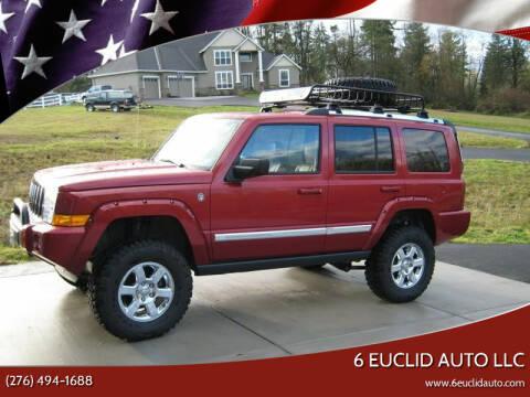 2010 Jeep Commander for sale at 6 Euclid Auto LLC in Bristol VA