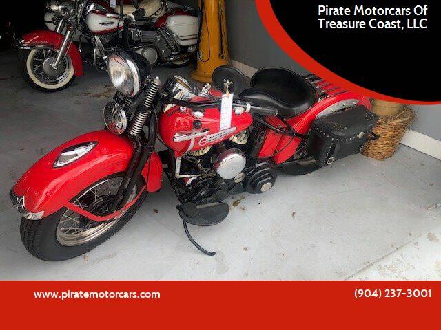 1947 Harley Davidson Pan head for sale at Pirate Motorcars Of Treasure Coast, LLC in Stuart FL