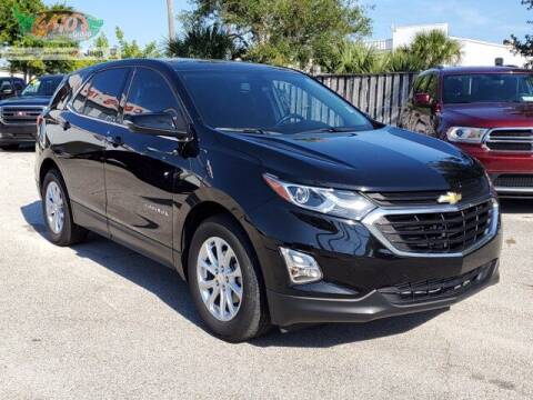 2018 Chevrolet Equinox for sale at GATOR'S IMPORT SUPERSTORE in Melbourne FL