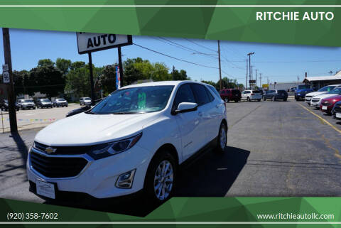 2019 Chevrolet Equinox for sale at Ritchie Auto in Appleton WI