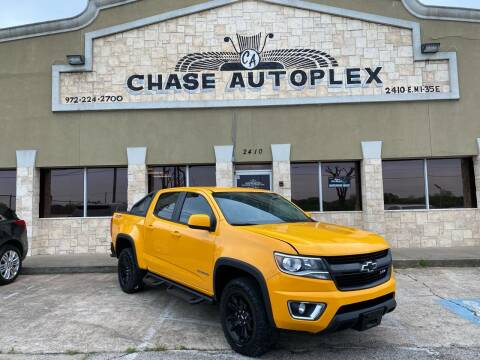 2018 Chevrolet Colorado for sale at CHASE AUTOPLEX in Lancaster TX
