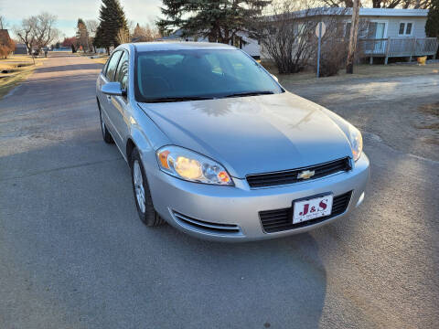 2007 Chevrolet Impala for sale at J & S Auto Sales in Thompson ND