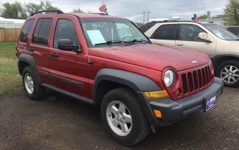 2006 Jeep Liberty for sale at L & J Motors in Mandan ND