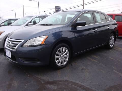 2015 Nissan Sentra for sale at Jay's Auto Sales Inc in Wadsworth OH