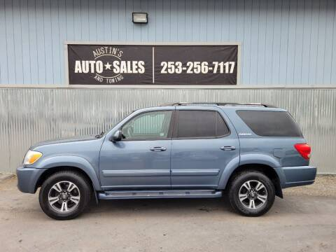 2006 Toyota Sequoia for sale at Austin's Auto Sales in Edgewood WA