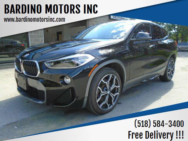 2018 BMW X2 for sale at BARDINO MOTORS INC in Saratoga Springs NY